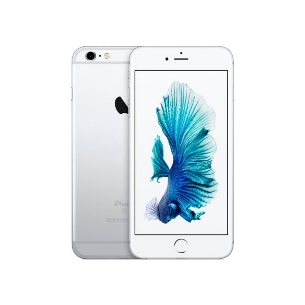 Apple iphone 6s 128gb plata reacondicionado cpo móvil 4g 4.7'' retina hd/2core/128gb/2gb ram/12mp/5mp