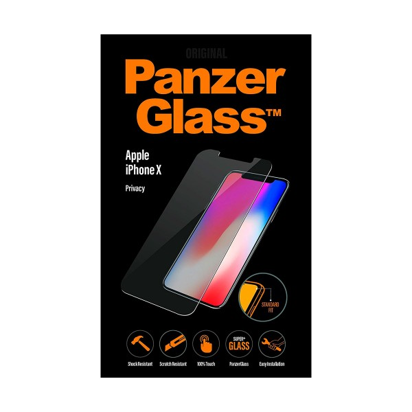 Panzerglass privacy protector cristal ultraresistente apple iphone x