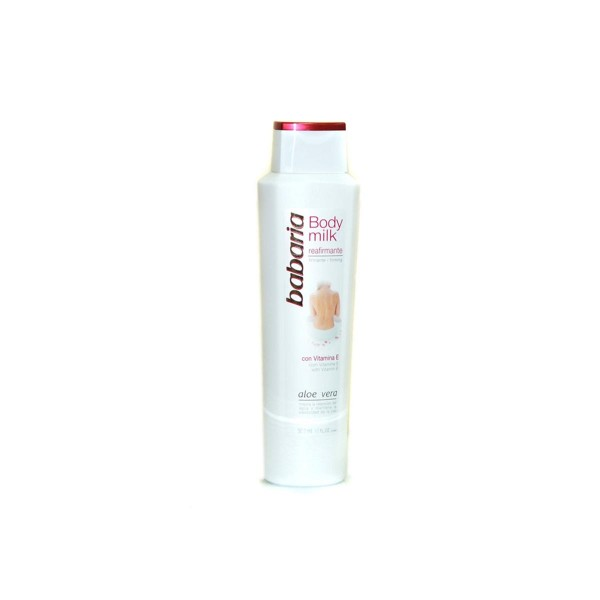 Babaria aloe vera body milk reafirmante vitamina e 500ml