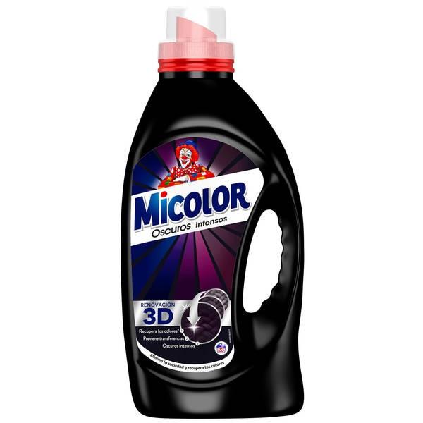 Micolor Detergente gel negro 23 lavados