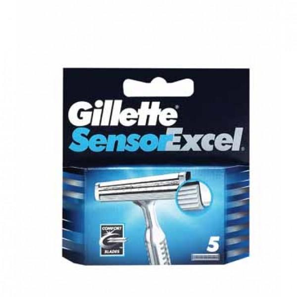 Gillette sensor excel recambios 5 unidades
