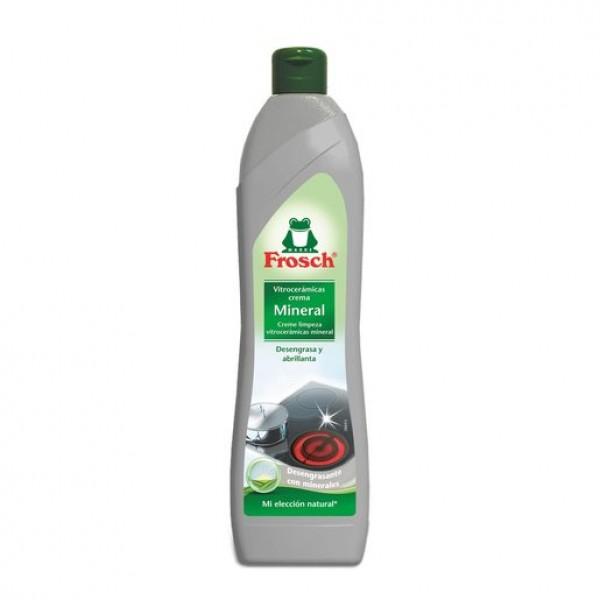 Frosch  limpia vitrocerámica crema mineral 650ml