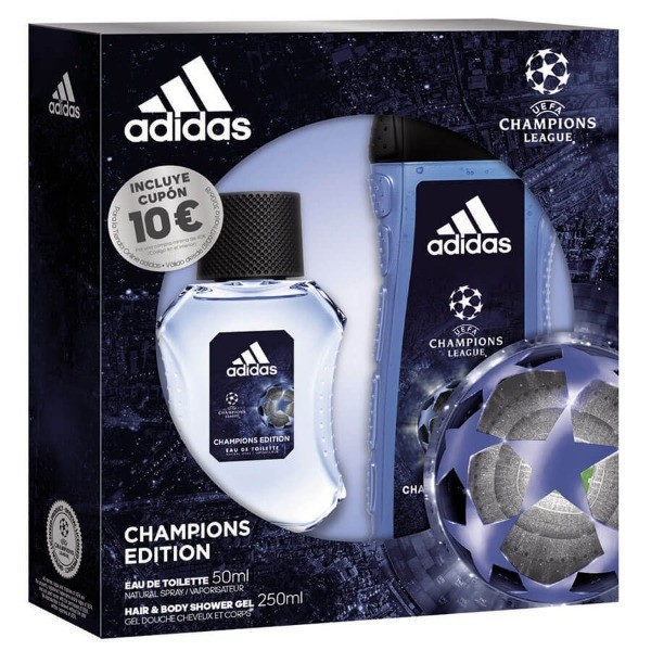 ADIDAS CHAMPIONS EDITION SET EDT 50 ml + HaiR & Body Shower Gel 250 ml