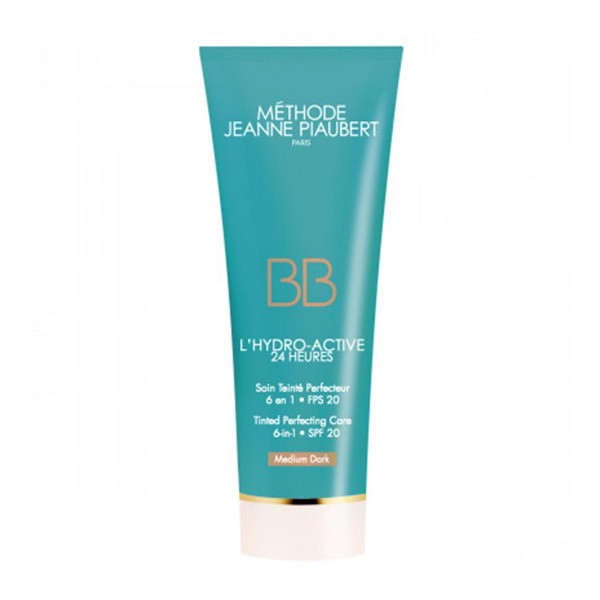 Jeanne piaubert l'hydro-active bb cream medium dark 50ml