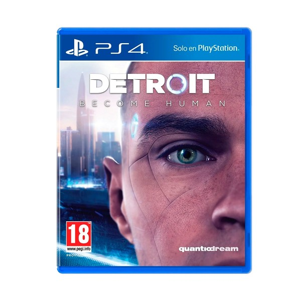 Sony juego ps4 detroit: become human