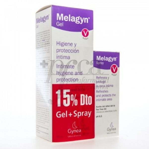 MELAGYN PROTECT GEL 200ML + SPRAY 50ML PROMO