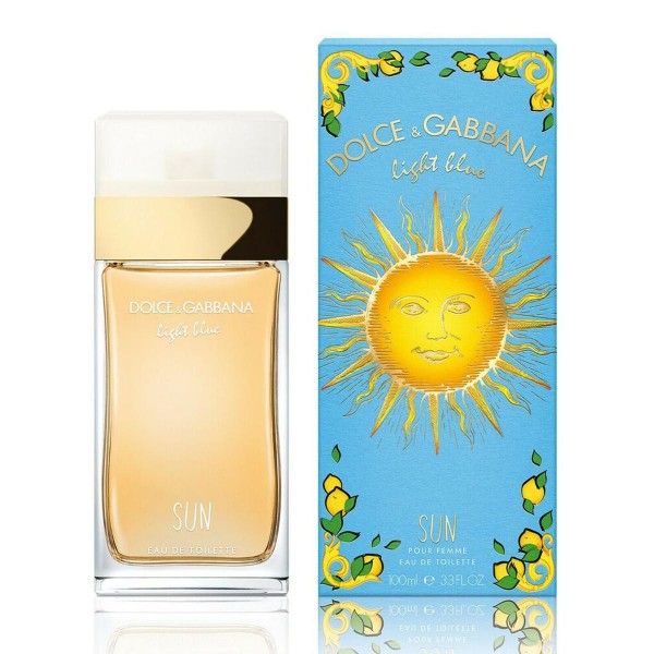 Dolce & gabbana light blue sun pour femme eau de toilette 100ml vaporizador edicion limitada
