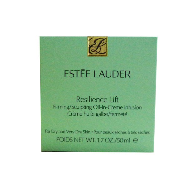 Estee lauder resilence lift sculpting oil in creme infusion peaux seches a tres seches 50ml