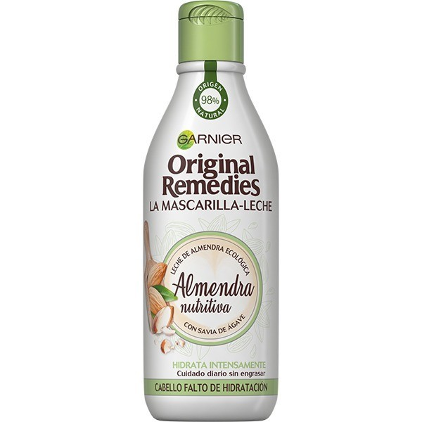 Garnier ORIGINAL REMEDIES Mascarilla-Leche Almendra nutritiva 250 ml