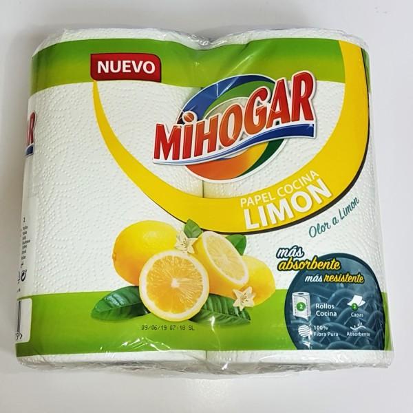 Mihogar papel de cocina limon