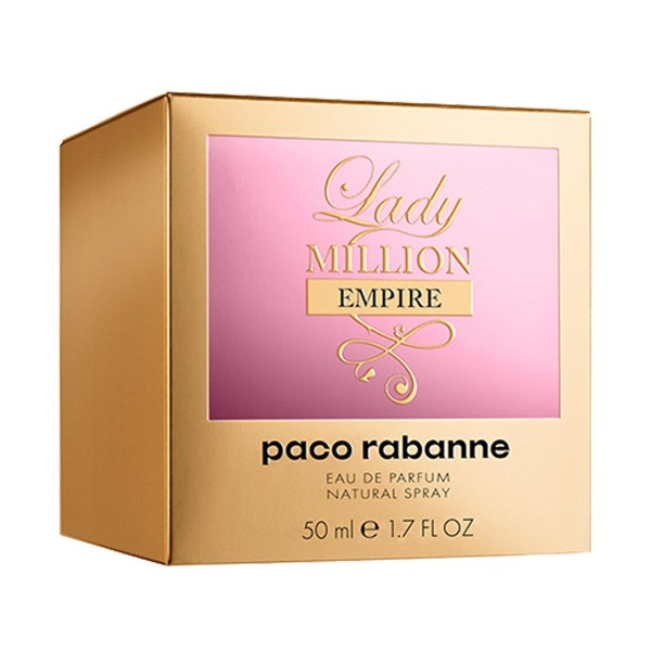 Paco rabanne lady million empire eau de parfum 50ml vaporizador