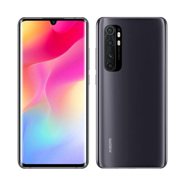Xiaomi mi note 10 lite negro medianoche móvil 4g dual sim 6.47'' amoled 3d fhd+/8core/128gb/6gb/64+8+5+2mp/16mp