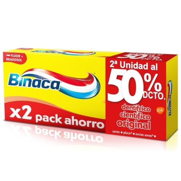 Binaca dentífrico Científico Original 75 ml pack 2 unidades