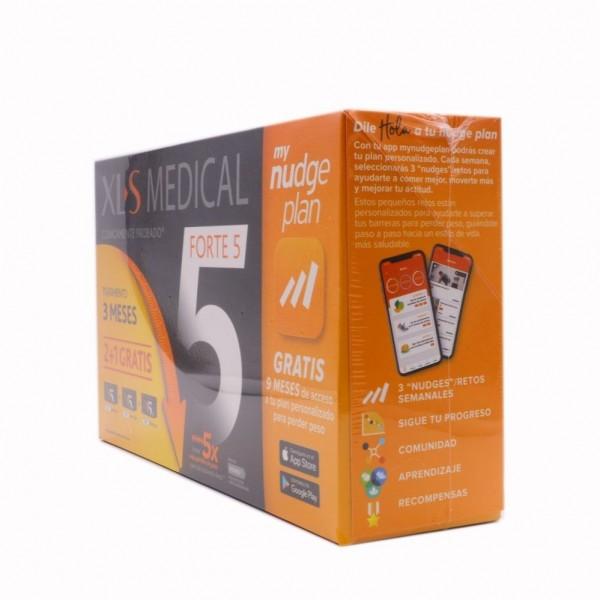 XLS MEDICAL FORTE5 NUDGE 180 COMPS