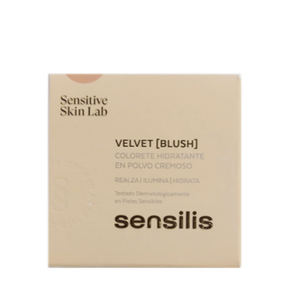 SENSILIS VELVET BLUSH COLORETE COLOR 02 CORAL 10 G